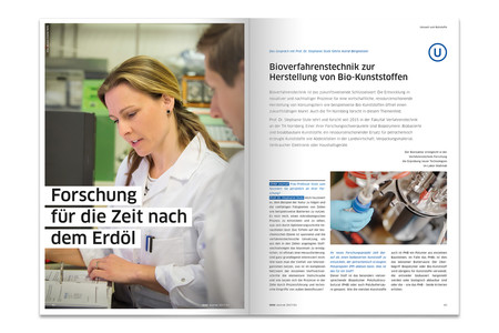 OHM-Journal Printmedien der Agentur Federmann und Kampcyzk design