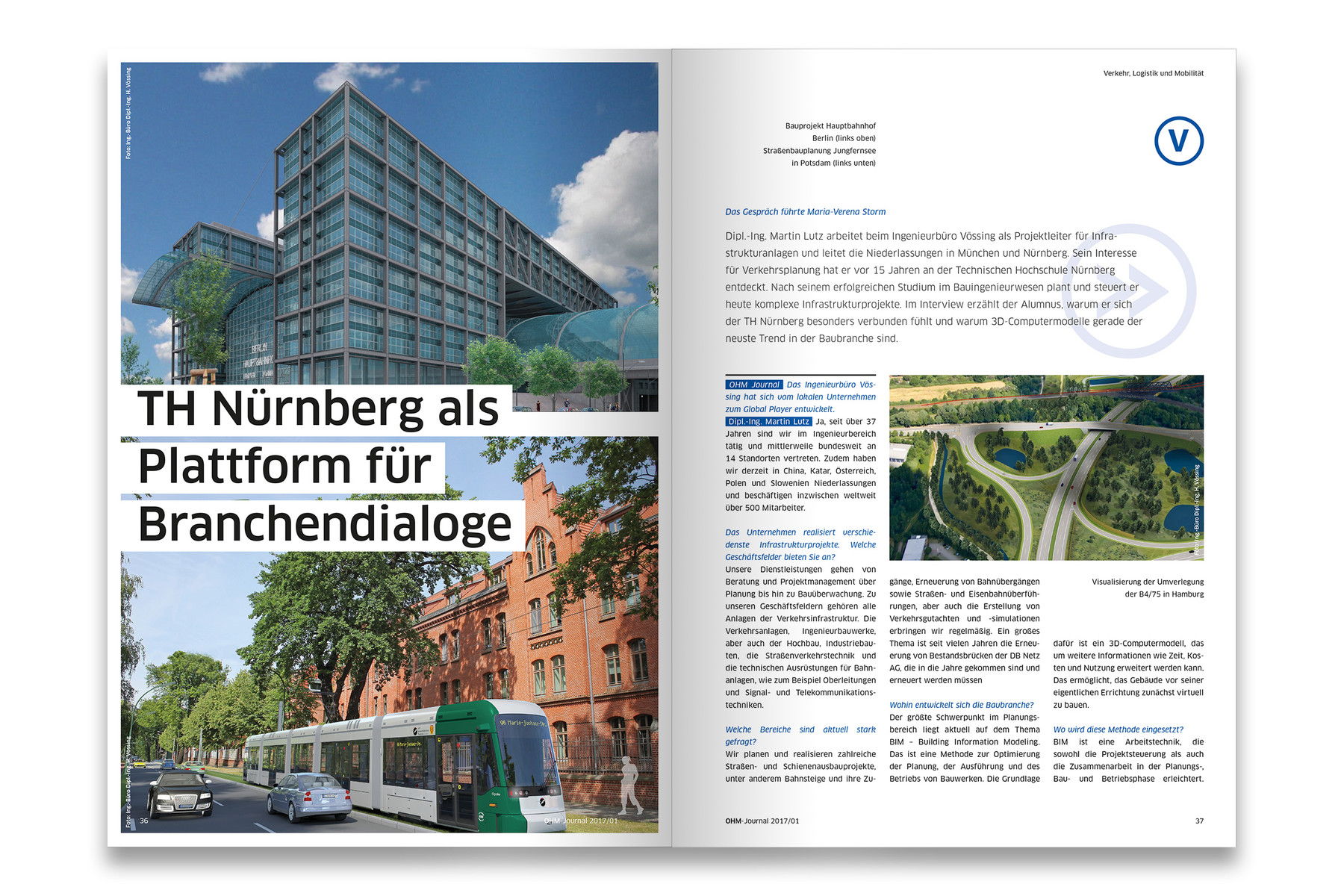Ohm Journal Für Die Th Nürnberg Federmann Und Kampczyk Design